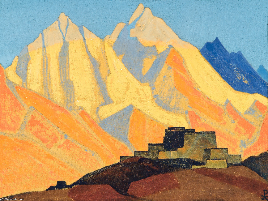 Nicholas Roerich NICHOLAS-ROERICH-SACRED-HIMALAYAS