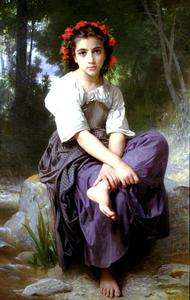 William Adolphe Bouguereau - Il ruscello