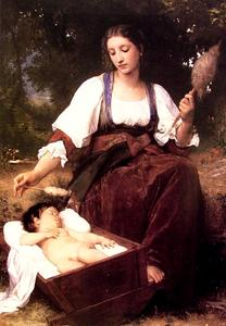 William Adolphe Bouguereau - Ninnananna