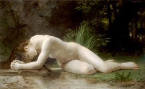 William Adolphe Bouguereau - Biblis - (Arte su tela)