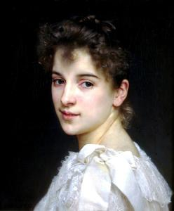 William Adolphe Bouguereau - Gabrielle Cot 1890