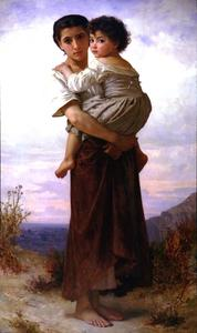 William Adolphe Bouguereau - Giovane zingara