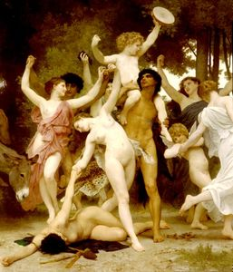 William Adolphe Bouguereau - Centro giovanile Bacco dt