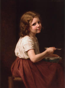 William Adolphe Bouguereau - La Soupe