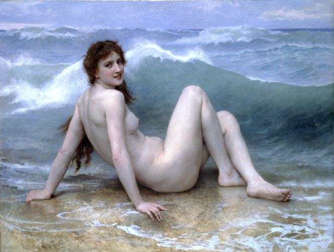 Elysium William+Adolphe+Bouguereau+-+the+wave+