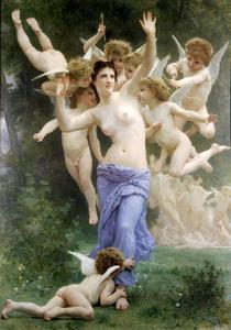 William Adolphe Bouguereau - Il nido