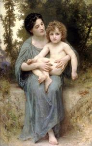 William Adolphe Bouguereau - Il fratello minore