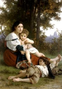 William Adolphe Bouguereau - riposarsi