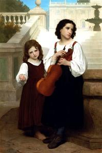 William Adolphe Bouguereau - Lontano da casa