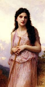 William Adolphe Bouguereau - Meditazione