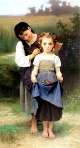 William Adolphe Bouguereau - Campi Parure