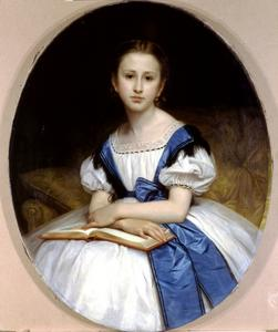 William Adolphe Bouguereau - Ritratto di Miss Brissac