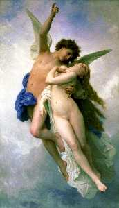 William Adolphe Bouguereau - Psiche e Lamoureux