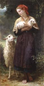 William Adolphe Bouguereau - La Pastorella 1873 165.1x87.6cm