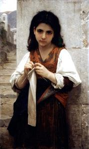 William Adolphe Bouguereau - Magliaia 1879