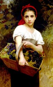 William Adolphe Bouguereau - Mietitore