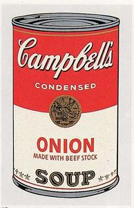 Andy Warhol - Campbell Soup Can cipolla