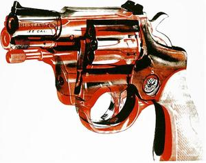 Andy Warhol - pistola