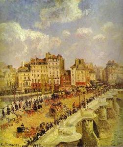 Camille Pissarro - A Pont-Neuf