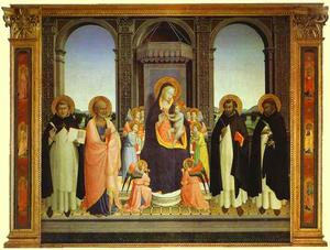 Fra Angelico - Fiesole Trittico