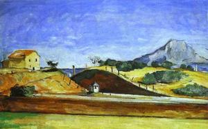 Paul Cezanne - The Cutting Railway