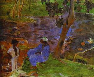 Paul Gauguin - al stagno