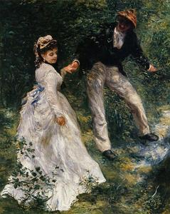Pierre-Auguste Renoir - The Promenade