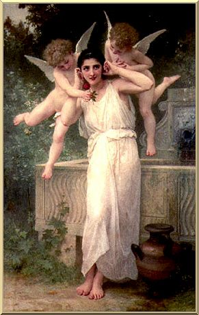 Innocenza, olio di William Adolphe Bouguereau (1825-1905, France)