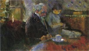 Edvard Munch - Prendendo Tea