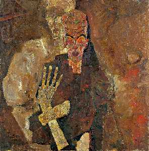 Egon Schiele - The Self-Veggenti II morte  e le  L uomo