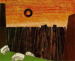 Max Ernst - Fishbone Foresta