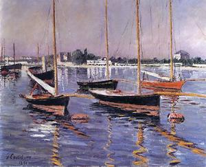 Gustave Caillebotte - barche sulla senna ad argenteuil