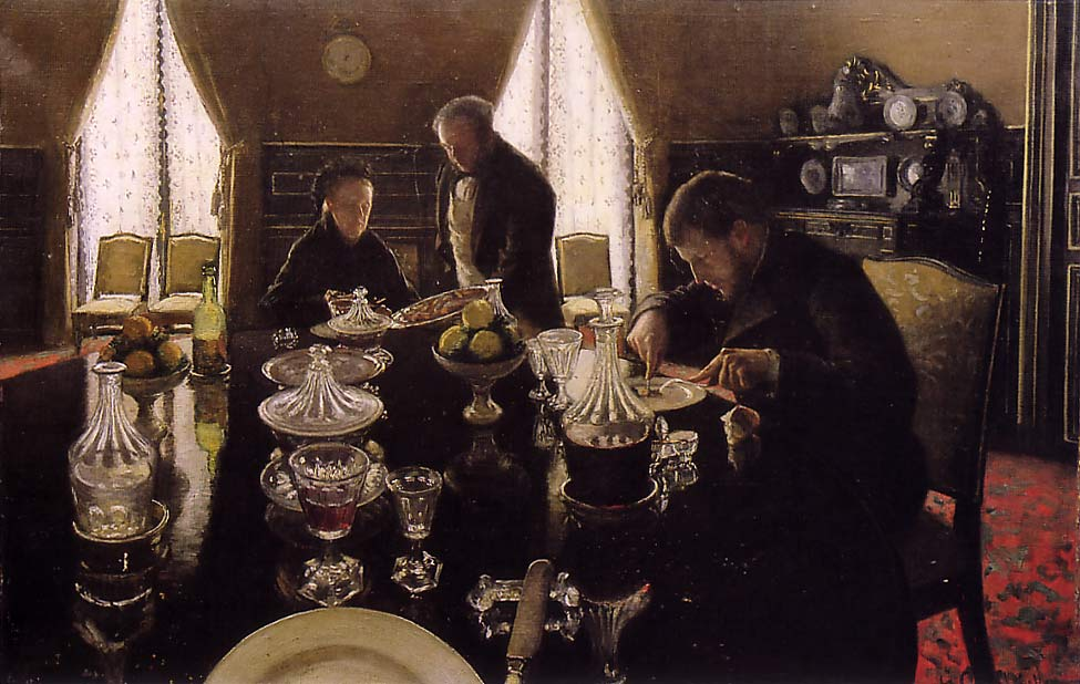Pranzo di Gustave Caillebotte (1848-1894, France) | WahooArt.com