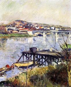 Gustave Caillebotte - il argenteuil ponte