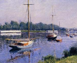 Gustave Caillebotte - il `basin` a argenteuil