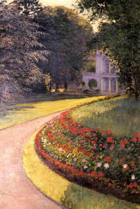 Gustave Caillebotte - Il Parco a Yerres
