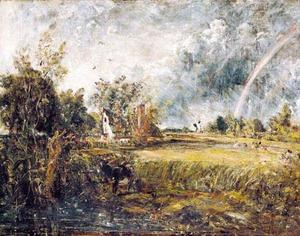 John Constable - Casolare a east bergholt