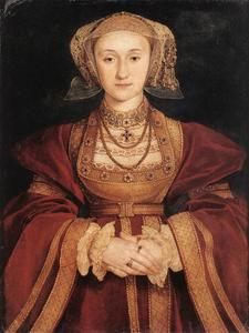Hans Holbein The Younger - ritratto anna di Cleves