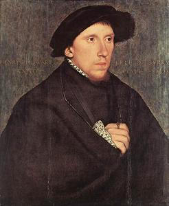 Hans Holbein The Younger - ritratto di henry howard , conte di surrey