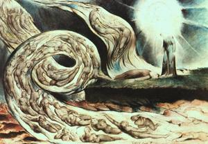 William Blake - Whirlwind of Lovers