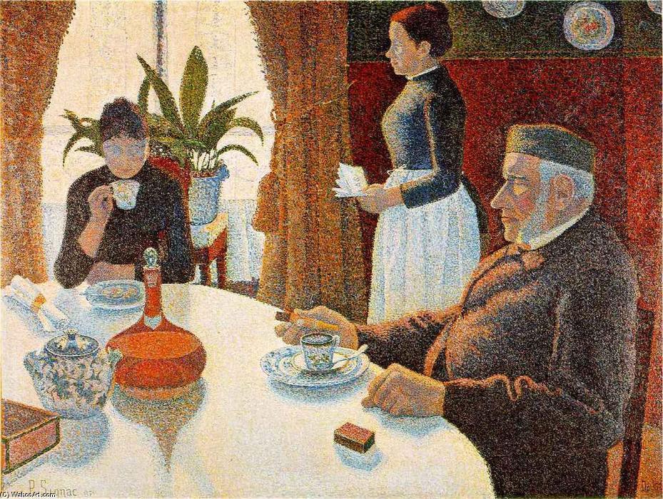 The Dining Room Signac