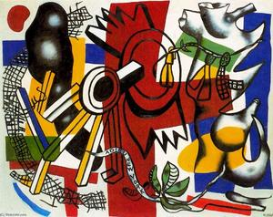 Fernand Leger - Addio New York