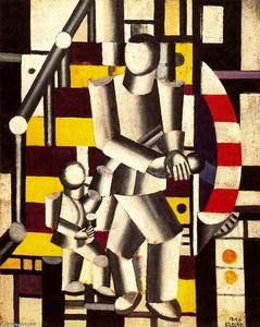 Fernand Leger - Antartico Staircase2