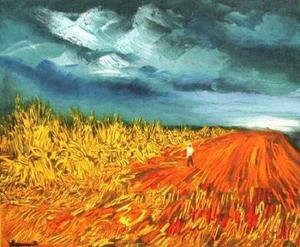 Maurice De Vlaminck - The Harvest