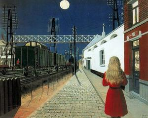 Paul Delvaux - Solitario