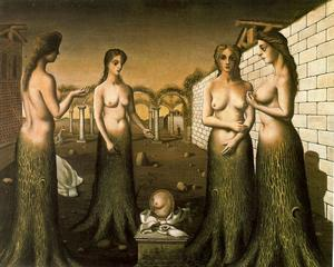 Paul Delvaux - il `break` di giorno