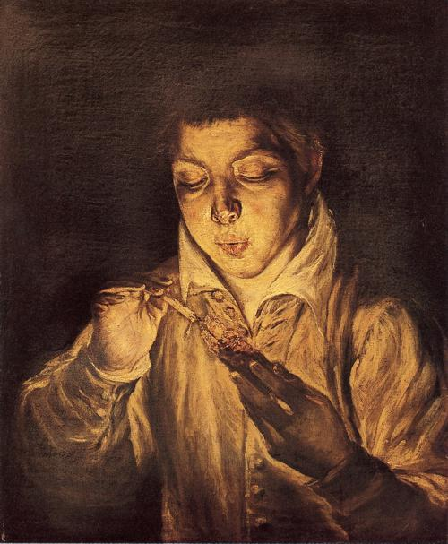 http://it.wahooart.com/Art.nsf/O/85FR99/$File/El-Greco-Dominikos-Theotokopoulos-Boy-Lighting-a-Candle-Boy-Blowing-on-an-Ember-.JPG