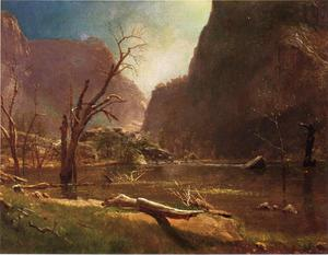 Albert Bierstadt - Schiudere Hatchy Valle , In california