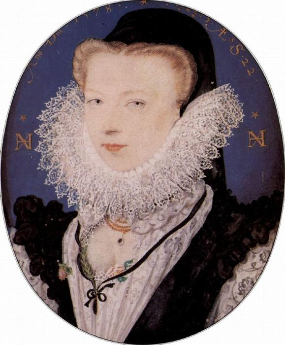 Alice, olio di Nicholas Hilliard (1577-1619, United Kingdom)