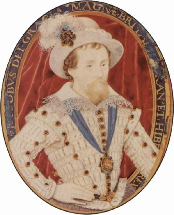 James io di Nicholas Hilliard (1577-1619, United Kingdom) | Copia Pittura | WahooArt.com